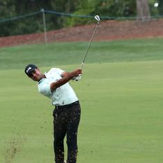 Golf: Shubhankar Sharma slides down after good start at 2020 English Championship