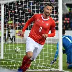 Nations League: Seferovic hat-trick helps Switzerland beat Belgium, Spain exit despite Bosnia win