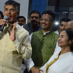 'Under Mamata Banerjee's leadership, the country will get a new PM,' says Chandrababu Naidu