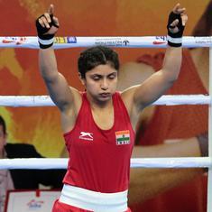 Women's Boxing Worlds: Pinki, Simranjit win as eight Indians enter QFs; Bulgaria boxer causes uproar