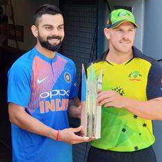 Virat will have a presence, no doubt: Aaron Finch expects Kohli to be 'verbal' but not sledge
