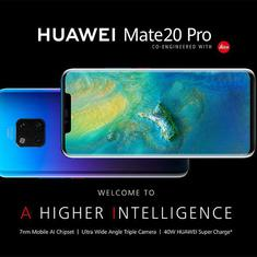 Huawei Mate 20 Pro coming to India on November 27th as Amazon exclusive, price not known yet