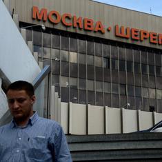 Moscow: Passenger plane kills man who strayed onto tarmac at airport