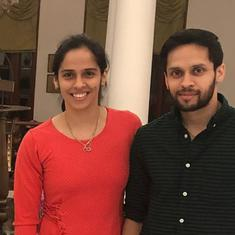 'Just another session': Soon-to-be married, Kashyap and Saina insist badminton remains their focus