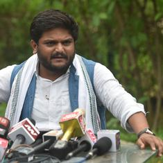 Patidar quota demand: Hardik Patel meets Gujarat OBC panel chief, demands survey of community