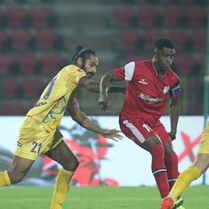 ISL: NorthEast United score two late goals to complete stunning turnaround against Kerala Blasters