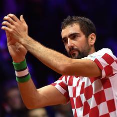 Davis Cup final: Marin Cilic, Borna Coric put Croatia 2-0 ahead against holders France
