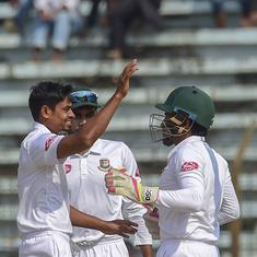 Chittagong Test: Bangladesh lead 1-0 after Taijul Islam's six-wicket haul wrecks West Indies