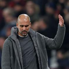 Don't talk too loud: Guardiola hits back after Barcelona president thanks Uefa for banning Man City