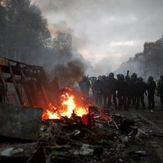 Paris: Police use teargas, water cannons as protests against rising fuel taxes turn violent
