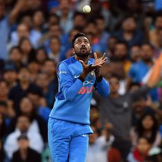 We need to be more cautious with our batting in second T20I against Australia: Krunal Pandya