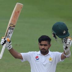 Haris Sohail, Babar Azam score centuries to put Pakistan in command against New Zealand