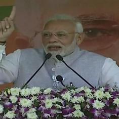Telangana: TRS and Congress are two sides of the same coin, Narendra Modi says in Nizamabad