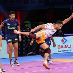 Pro Kabaddi League: Puneri Paltan make stunning comeback to beat Haryana Steelers