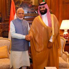 सऊदी अरब के प्रिंस सलमान आज राष्ट्रपति रामनाथ कोविंद और प्रधानमंत्री नरेंद्र मोदी से मिलेंगे