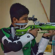 Named after Bindra, India's youngest national shooting champion Abhinav Shaw lives father's dream