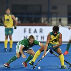Hockey World Cup 2018: Defending champions Australia eke out a 2-1 win against Ireland