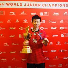Overcoming nasal allergy to being two-time badminton world junior champ: Story of Kunlavut Vitidsarn