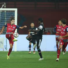 Indian Super League: NorthEast United and Jamshedpur play out goal-less stalemate