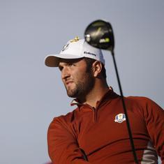 Golf: Jon Rahm wins boyhood idol Tiger Woods's Hero World Challenge