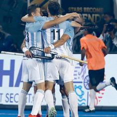 Hockey World Cup 2018: Argentina thrash New Zealand to edge closer to quarter-final berth