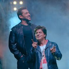 'Zero': Shah Rukh Khan and Salman Khan in a dance-off for Katrina Kaif in 'Issaqbaazi'