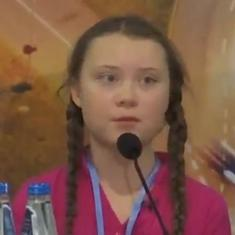 Watch: A 15-year old climate change activist called out world leaders for 'behaving like children'