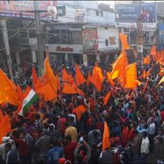Hindutva rallies marking Babri demolition have the police on edge across North India
