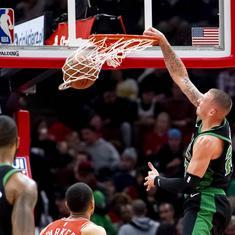 NBA: Boston Celtics dominate Chicago Bulls to score franchise record 56-point win