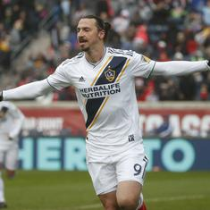 Football: Zlatan Ibrahimovic leaves MLS side Los Angeles Galaxy after two years