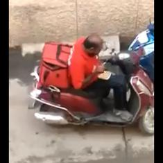 Zomato says it is investigating video showing delivery man purportedly eating ordered food