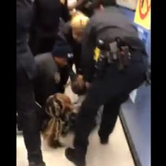 Watch: New York police officers pry one-year-old from mother's arms in troubling video