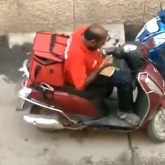 Zomato fires delivery driver in Madurai after video shows him eating customers' food