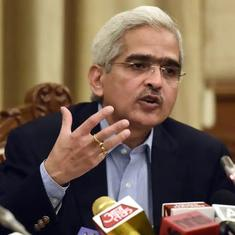 Centre declines RTI query asking for details of Shaktikanta Das' appointment as RBI governor