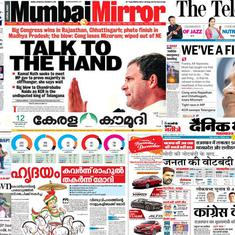'Talk to the Hand': Front pages say Assembly election results are a morale boost for Congress