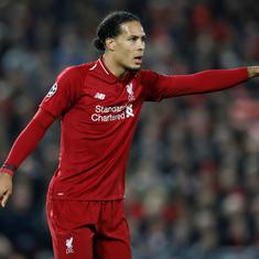 Premier League: Liverpool's Van Dijk could miss rest of the season with knee injury, claim reports