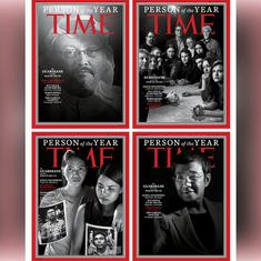 Time's Person of the Year recognises the global assault on journalism