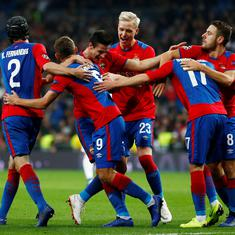 Champions League: CKSA Moscow stun 3-time reigning champions Real Madrid at home