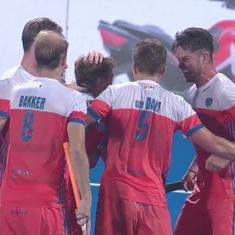 India's wait to enter Hockey World Cup semi-finals continues after 1-2 loss to the Netherlands