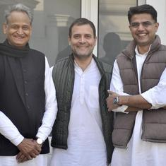 Ashok Gehlot named chief minister of Rajasthan, Sachin Pilot to be his deputy