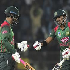 Shai Hope's successive ton in vain as Bangladesh beat West Indies in third ODI to win series