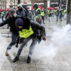 France: Protests held against President Emmanuel Macron's policies for fifth consecutive weekend