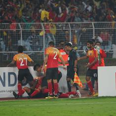 I League: East Bengal takes round one in glorious, madcap Kolkata Derby
