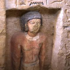 Watch: A 4,400-year-old tomb of an Egyptian high priest was unearthed by archaeologists