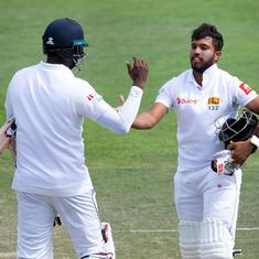 First Test: Mendis, Mathews defy New Zealand as Sri Lanka go an entire day without losing a wicket