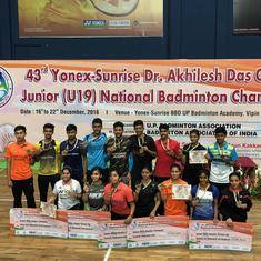 Badminton Junior Nationals: Aakarshi Kashyap, Kiran George win titles on a day of delays