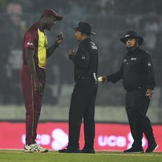 Decisions went for Bangladesh: Windies captain Brathwaite criticises umpires for contentious calls