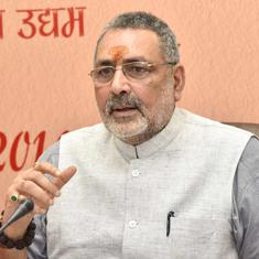 BJP's Giriraj Singh backs Ramdev's call to deny voting rights to third child to check population