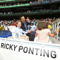 Another feather in Punter's cap: Ponting formally inducted into ICC Hall of Fame