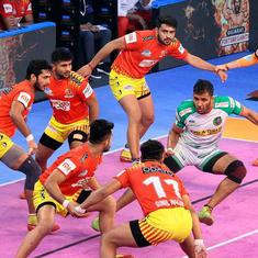 Pro Kabaddi: Patna Pirates on the brink of elimination after defeat to Gujarat Fortunegiants